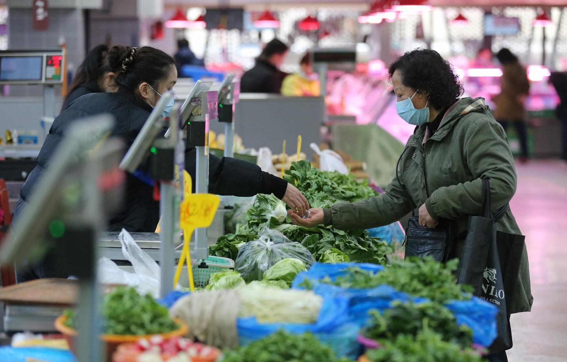 3月菜肉价格齐降  南京食品价格下降4.1%
