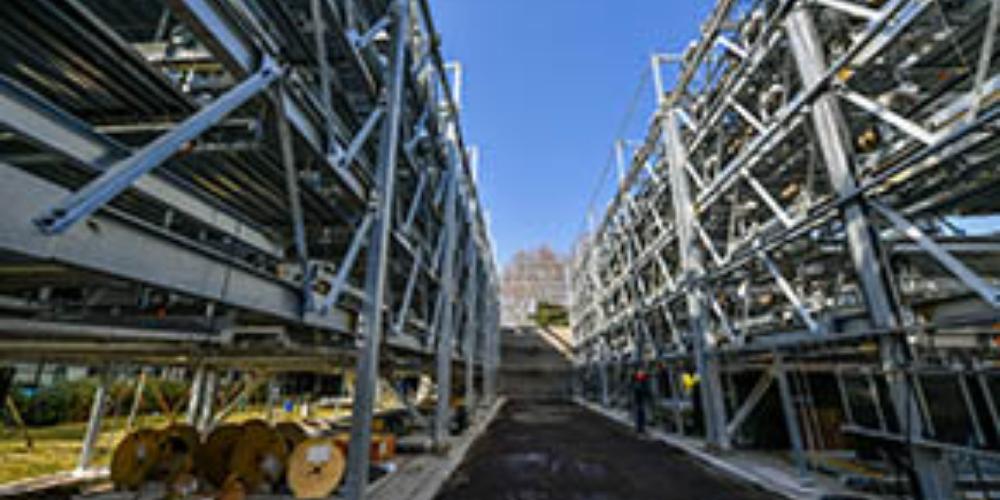 夫子庙地区新建两座立体停车库