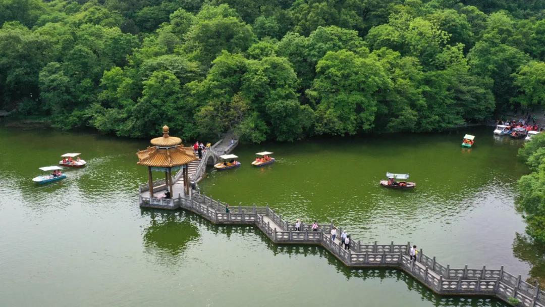 滁州市琅琊山风景区。图片来源:视觉中国