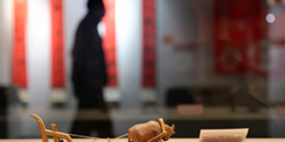 熱圖:新春民俗展展示濃濃年味