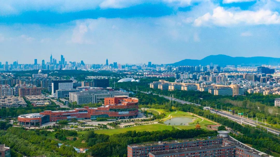 中国(南京)软件谷。南报融媒体记者 冯芃 摄