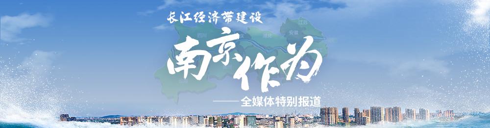 長江經濟帶建設 南京作為