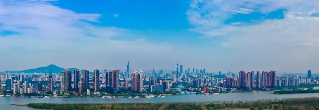 """""""环境美""""成为南京高水平全面建成小康社会最重要的标志。南报融媒体记者 冯芃 董家训摄"""