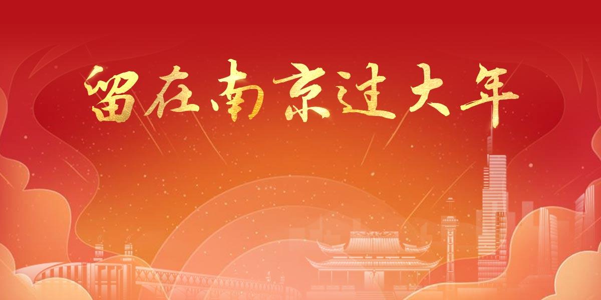 留在南京过大年