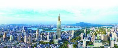 """南京致力于畅通""""双循环"""",建设国际消费中心城市。 南报融媒体记者 冯芃摄"""
