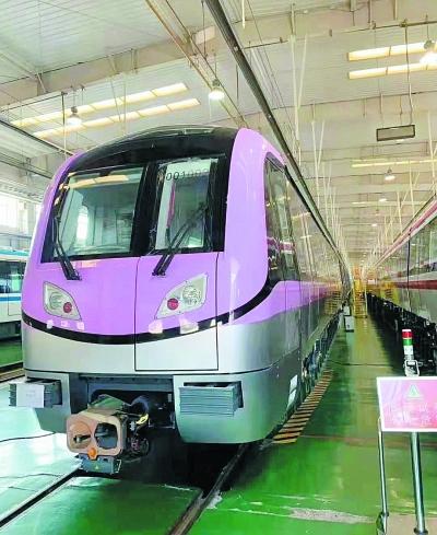 S6号线列车。 句容发布供图
