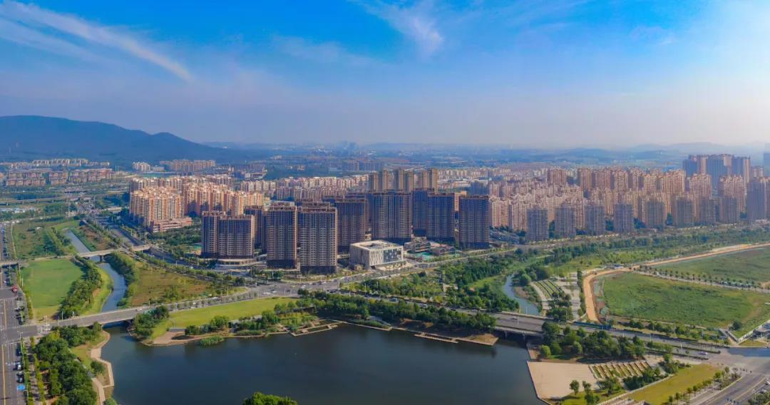 南京正推进紫东地区发展。这是紫东地区麒麟片区。南报融媒体记者 冯芃摄