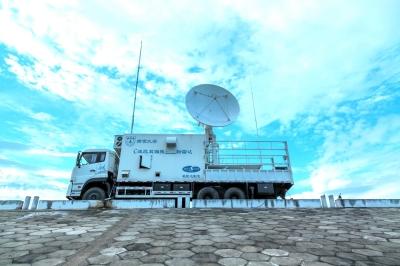 长三角大气与地球系统科学野外科学观测站移动观测平台。 通讯员 南大轩摄